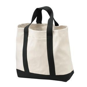 Port Authority® Two-Tone Shopping Tote