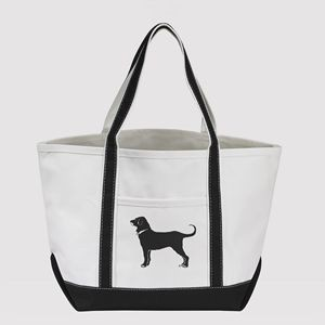 Lightweight Canvas Boat Tote Bag