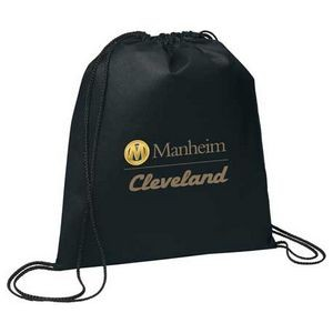 Evergreen Non-Woven Drawstring Bag
