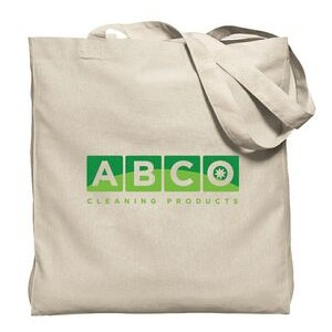 Natural Gusseted Economy Tote Bag