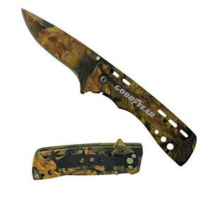 Handy Camo Pocket Knife